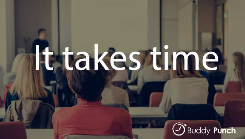 Give Your Employees Time to Learn