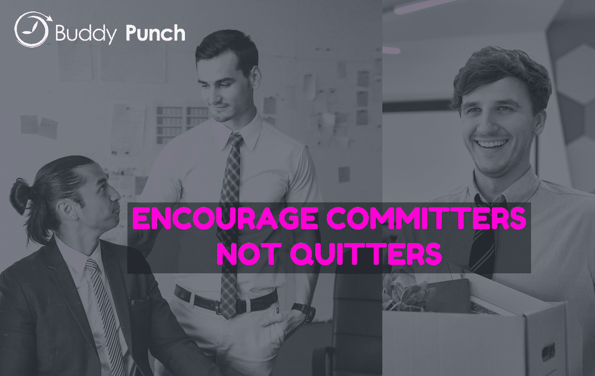 How to Encourage Committers Not Quitters