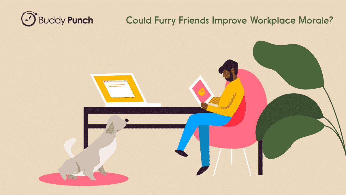 Could Furry Friends Improve Workplace Morale?
