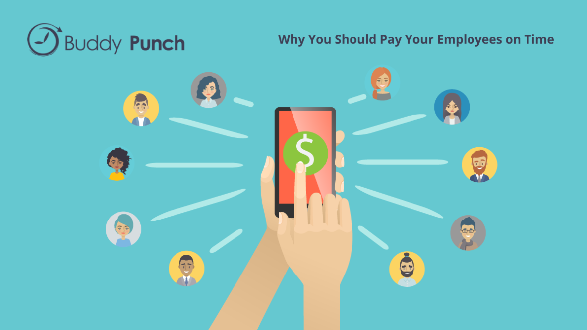 Why you should pay your employees on time