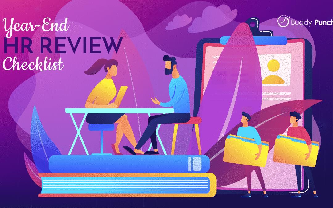 Year-end HR Review Checklist