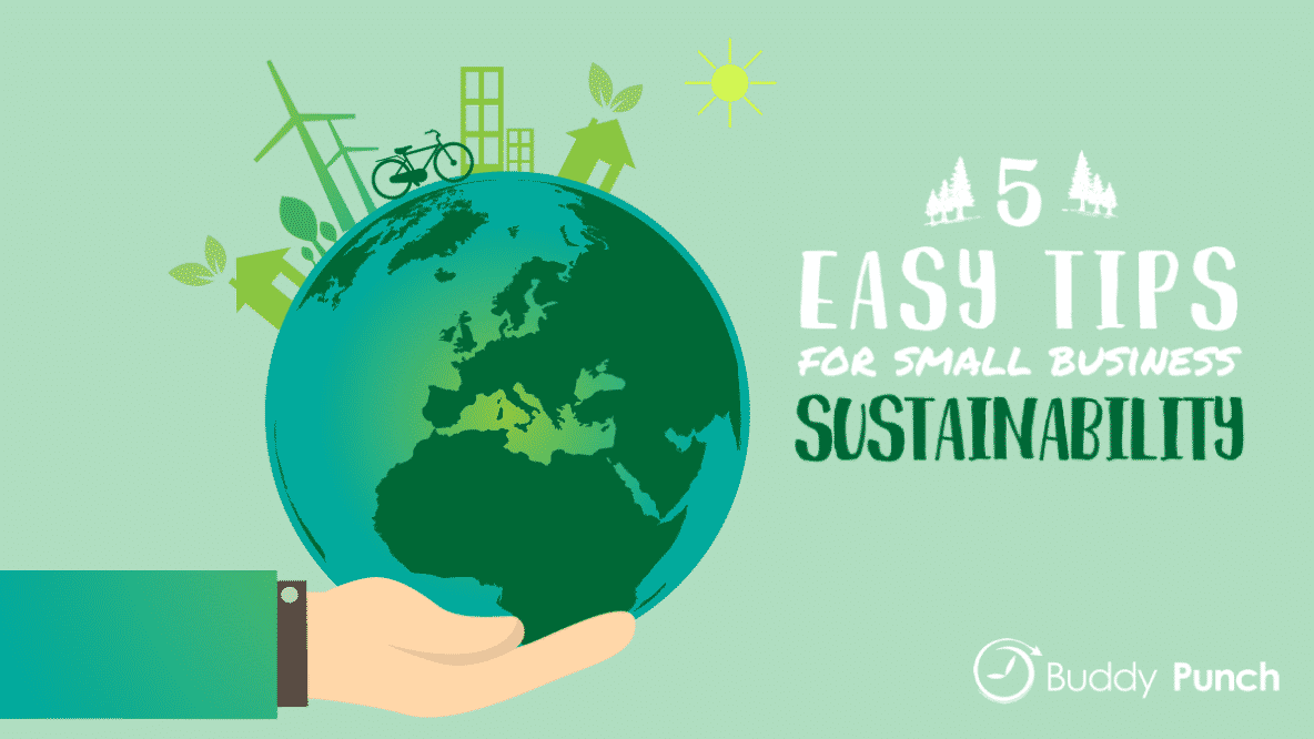 5 Easy Tips for Small Business Sustainability