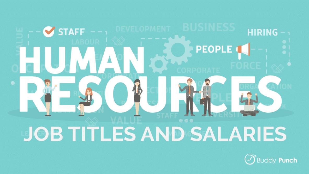 Human Resources Job Titles and Salaries