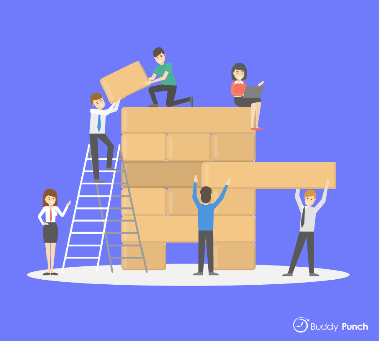Organizational Jenga is meant to help employees understand how each role at a business is important and that without everyone in place, things can quickly fall apart.