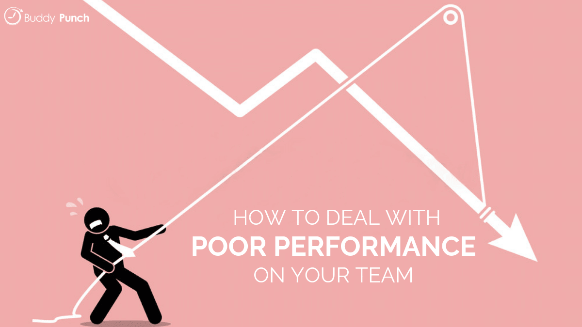 How to Deal with Poor Performance On Your Team