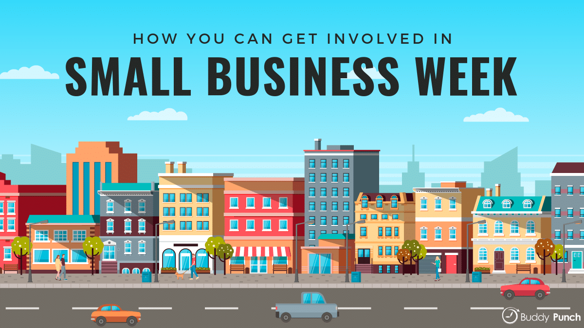 How you can get involved in small business week