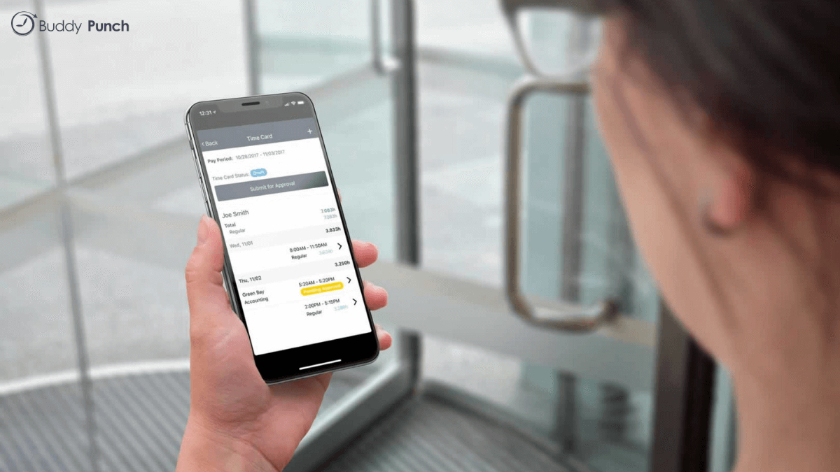 Buddy Punch allows its users to access their account from any device with an internet connection making tracking time a breeze.