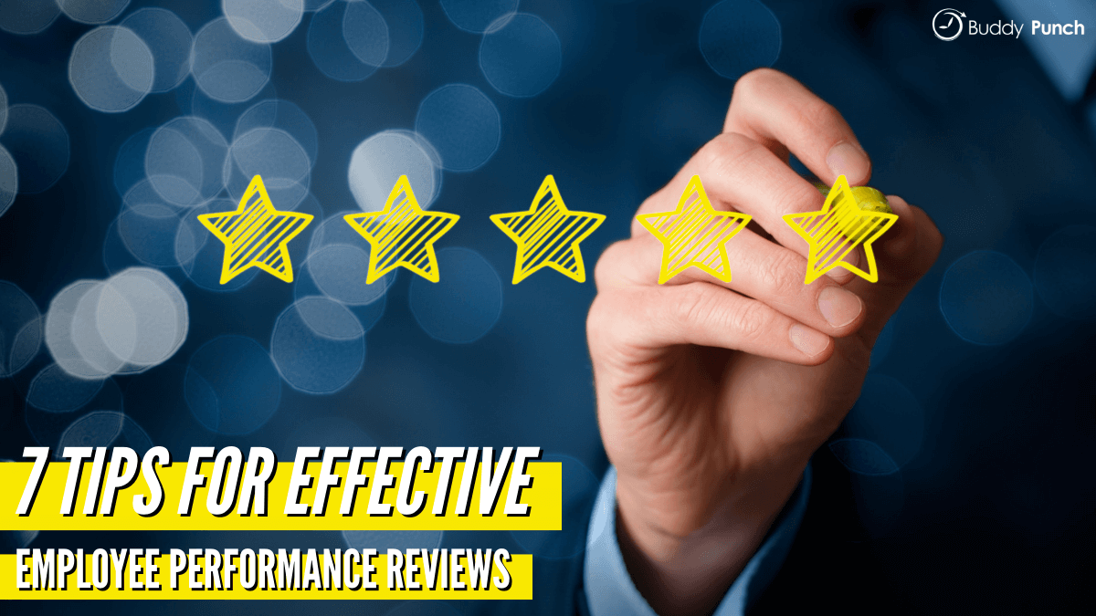 7 Tips for Effective Employee Performance Reviews