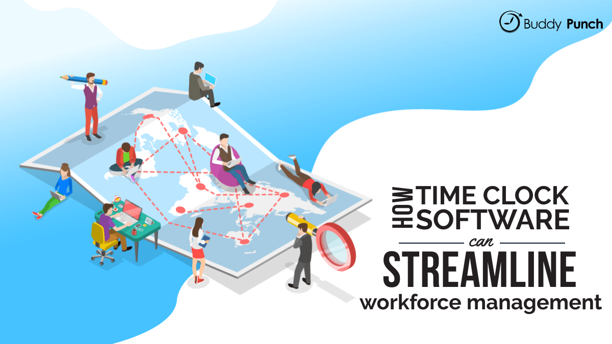 How Time Clock Software Can Streamline Workforce Management