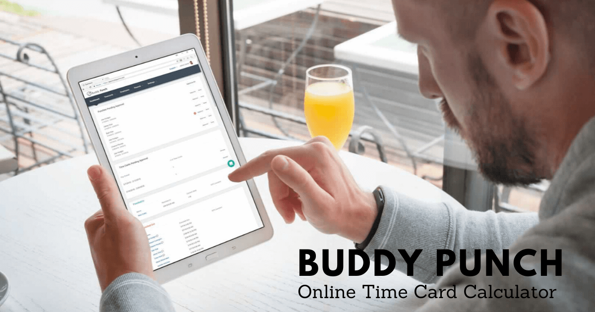 Free Online Time Card Punch Clock Calculator With Breaks