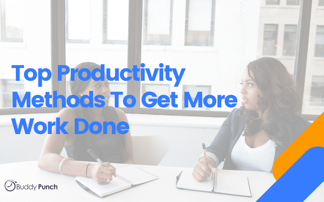 Productivity methods for work
