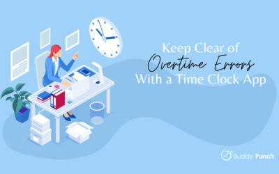 Keep Clear of Overtime Errors with a Time Clock App