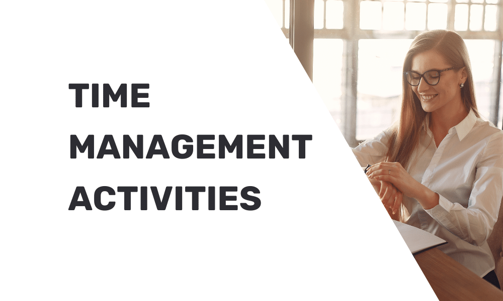 time management activities