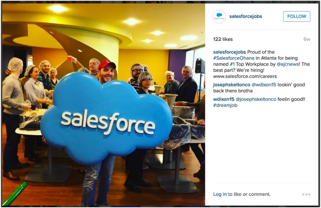 salesforce company culture