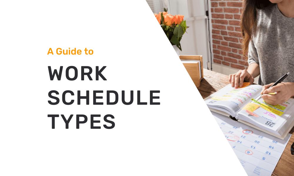 work schedule types