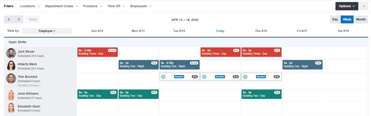 Create Schedules in Minutes