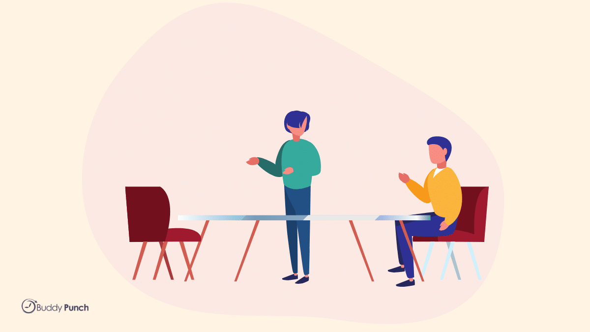 talking through conflict
