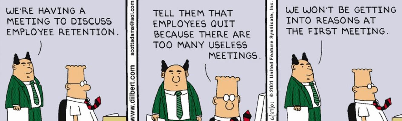 meetings comic