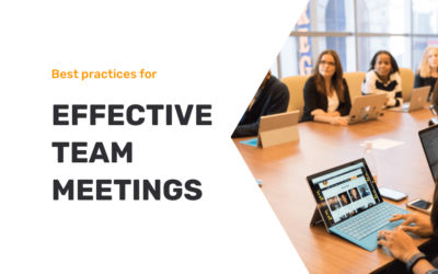 10 Best Practices for Effective Team Meetings