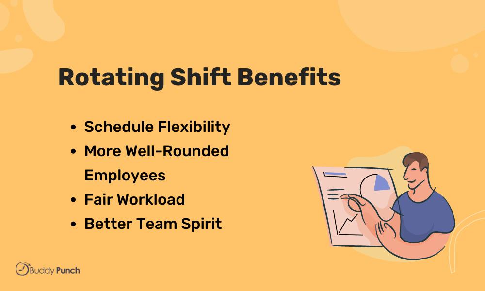 rotating shift benefits