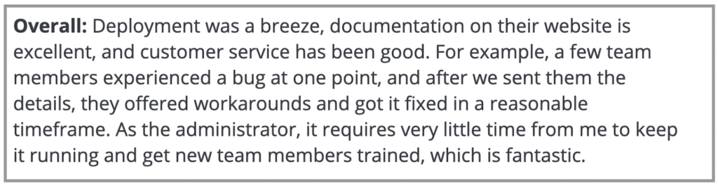 """Clockify Review: """"Deployment was a breeze..."""""""