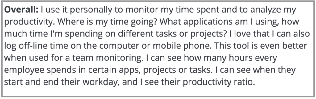 """Desktime Review: """"Monitor time spent and analyze productivity"""""""