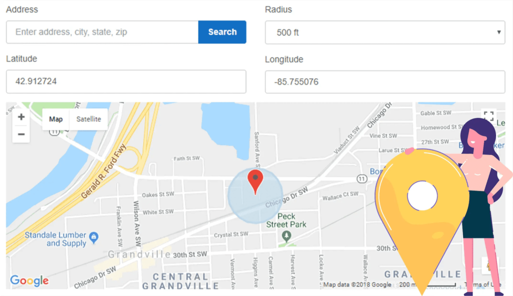Buddy Punch's Geofencing Option
