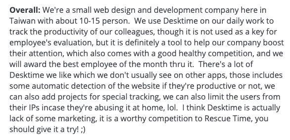 """DeskTime review: """"Productivity"""""""