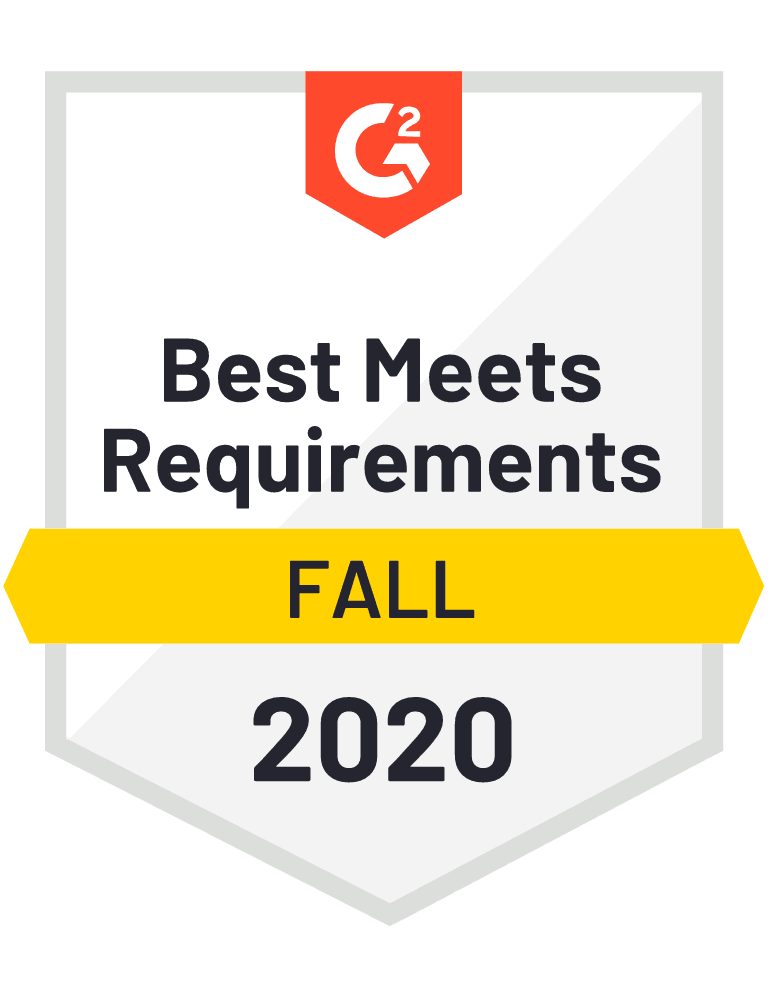 Best Meets Requirements Fall 2020