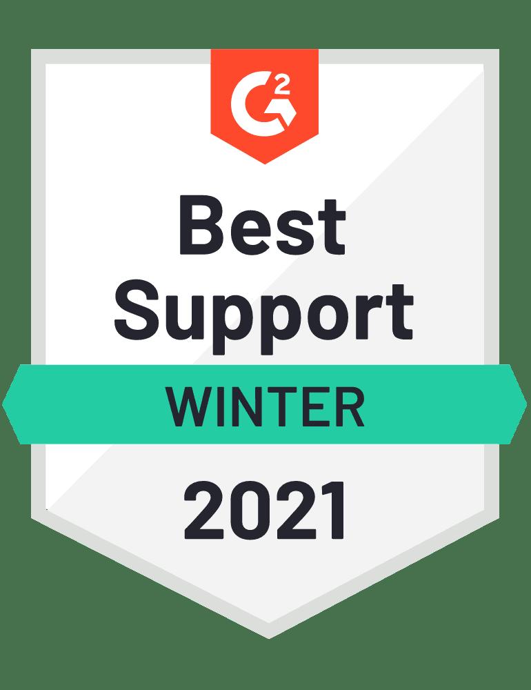 Best Support Winter 2021