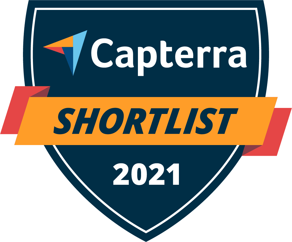 Capterra Shortlist Badge