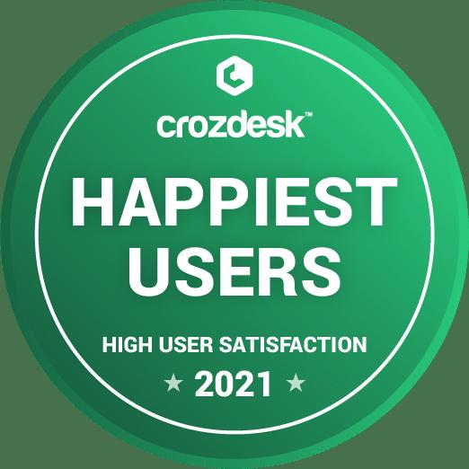 Crozdesk Happiest Users