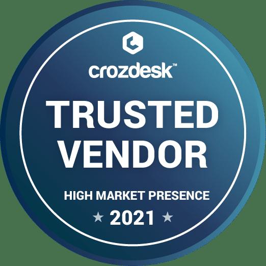 Crozdesk Trusted Vendor