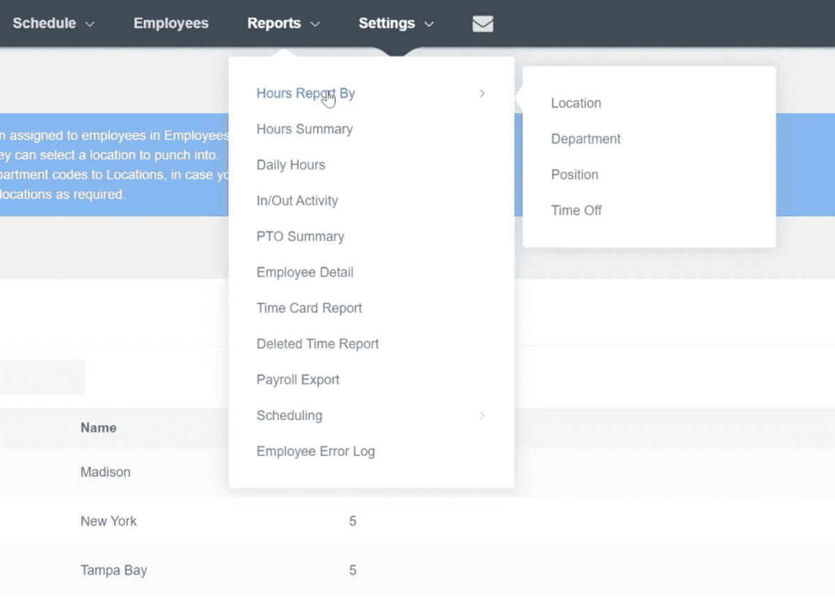 Tracking Employee Hours by Locations, Projects, or Jobs